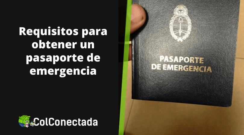 Cómo solicitar el pasaporte de emergencia 2