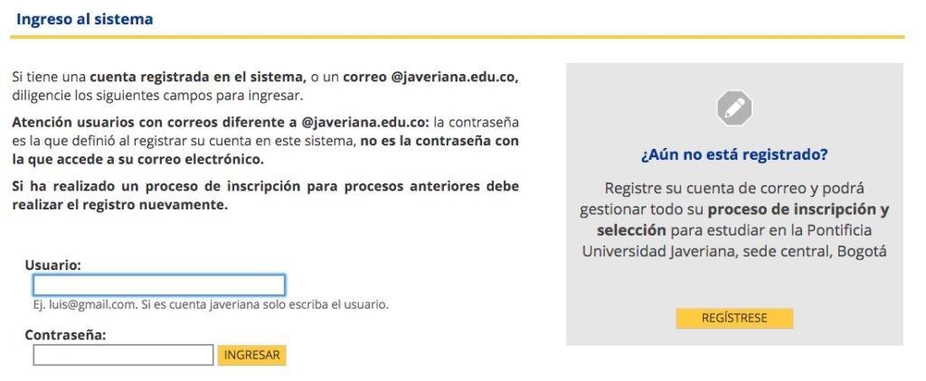 Estudiar en la Universidad Javeriana 1