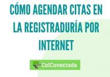Cómo agendar citas en la Registraduría por Internet