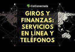 Giros y finanzas: Servicios en línea y teléfonos