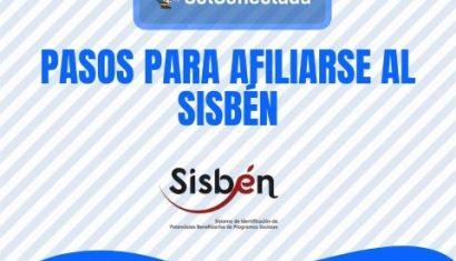 Cómo afiliarse al Sisbén por primera vez