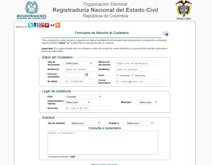 Cómo agendar citas en la Registraduría por Internet 3