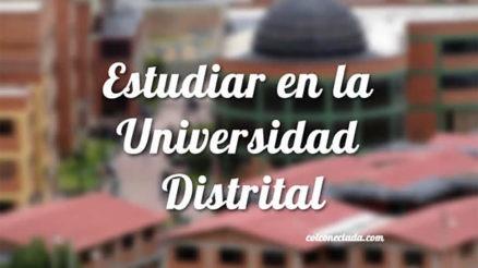 Universidad Distrital: Admisiones, inscripción y carreras 6