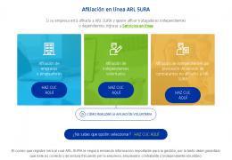 ARL SURA: Cómo afiliarse y servicios que ofrecen