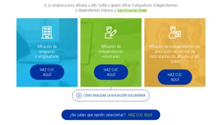 ARL SURA: Cómo afiliarse y servicios que ofrecen 3