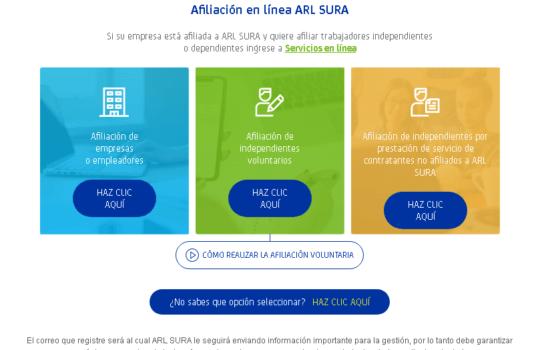 ARL SURA: Cómo afiliarse y servicios que ofrecen 2
