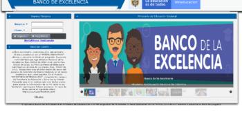 Cómo ser parte del Banco Nacional de la Excelencia 2