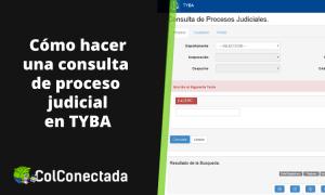 Tyba: Consulta de procesos judiciales