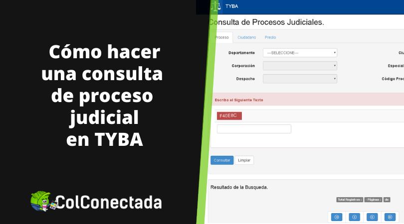 Tyba: Consulta de procesos judiciales 2
