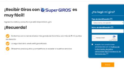 Consultar giro Super Giros
