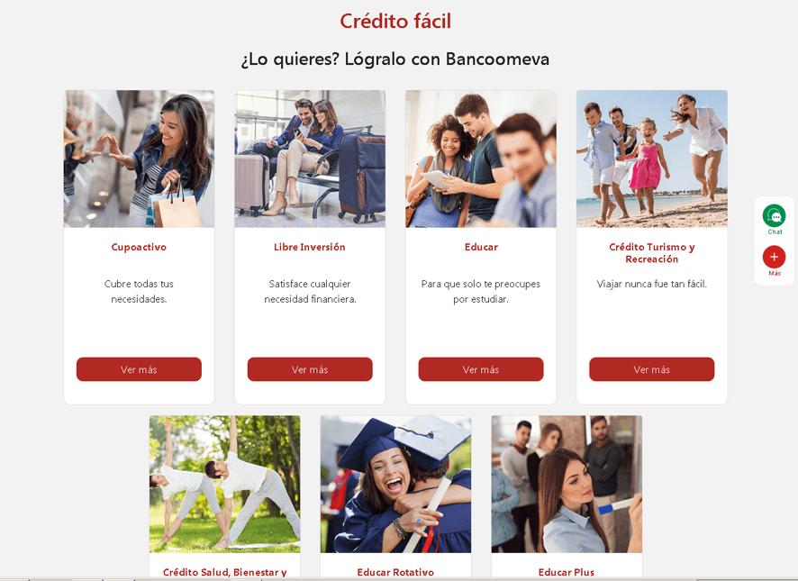 Tipos de créditos para personas