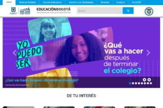 Secretaría de Educación de Bogotá: Trámites en línea 16