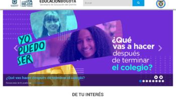 Secretaría de Educación de Bogotá: Trámites en línea 12