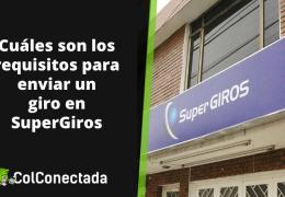 Super Giros: Tarifas y consulta de giros por Internet