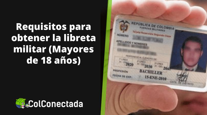 Tramitar la Libreta Militar Colombiana 12