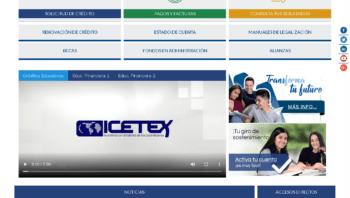 ICETEX: Consultar el estado de cuenta por Internet 21