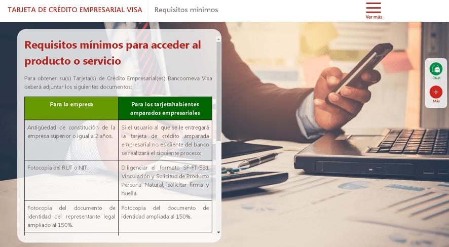 Cómo solicitar un crédito en Bancoomeva 2