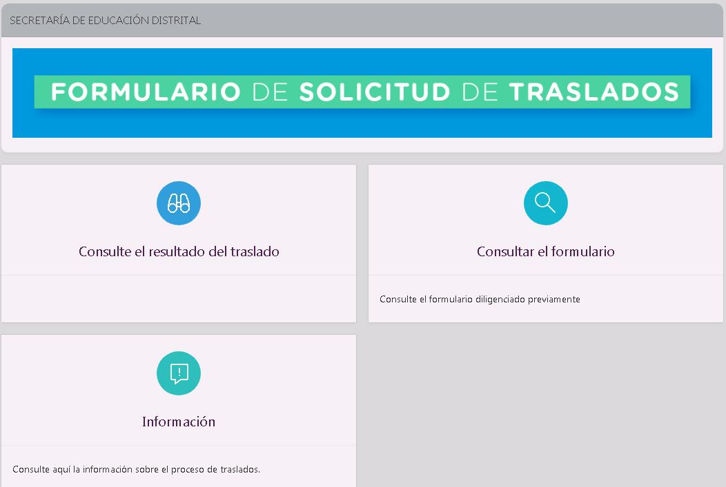 Solicitar traslado de colegio en Bogotá