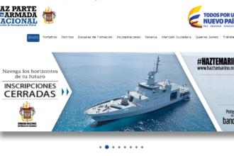 Armada de Colombia: Proceso de inscripción 6