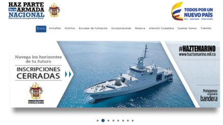 Armada de Colombia: Proceso de inscripción 1