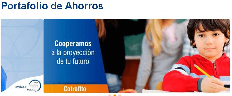 Cotrafa: Créditos, ahorro y servicios en línea 2