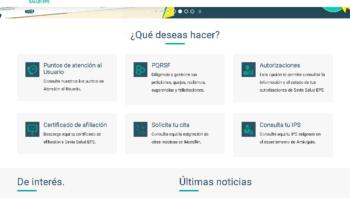 Savia Salud: Citas médicas y certificados por Internet 7