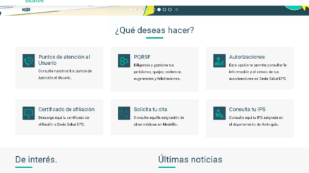 Savia Salud: Citas médicas y certificados por Internet 5