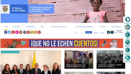 Unidad para las Víctimas: Trámites que puede hacer en línea 1