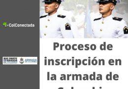 Armada de Colombia: Proceso de inscripción