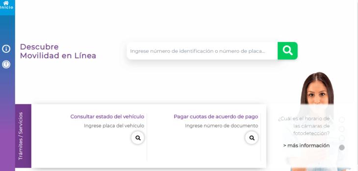 Movilidad en Línea: Portal de trámites para tránsito en Medellín 5