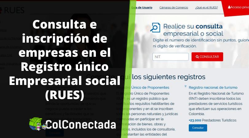 RUES: Consultar si una empresa está inscrita en Colombia 9