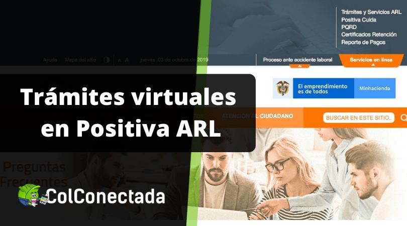 Positiva ARL: Servicios y consultas en línea - Teléfonos 7