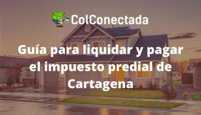 Impuesto predial de Cartagena: Recibo y plazos