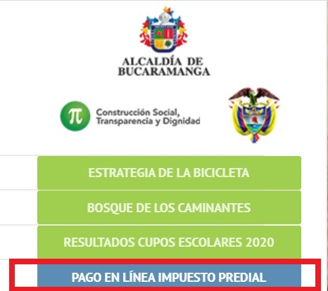 pago impuesto predial bucaramanga