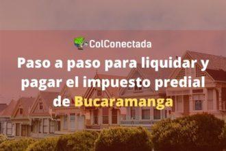 Impuesto predial de Bucaramanga
