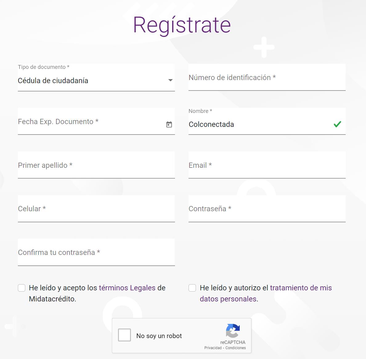registro datacrédito