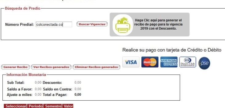 Impuesto predial de Bucaramanga en línea 2