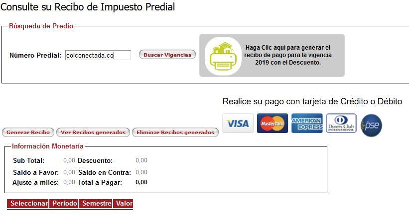 Impuesto predial de Bucaramanga en línea 1