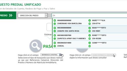 Consulta del impuesto predial en Villavicencio 1