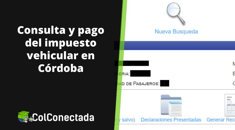 Impuesto vehículos en Córdoba 2020 11