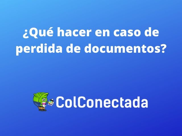 Perdida de documentos sidex