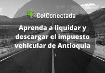 Pago del impuesto de vehículos en Antioquia 2021