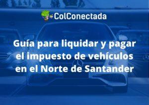 impuesto vehicularen norte de santander