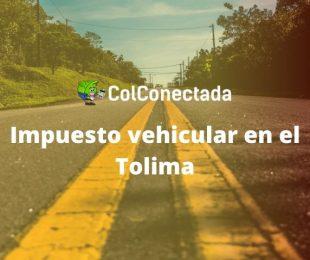 Impuesto de vehículos Tolima por Internet 2020