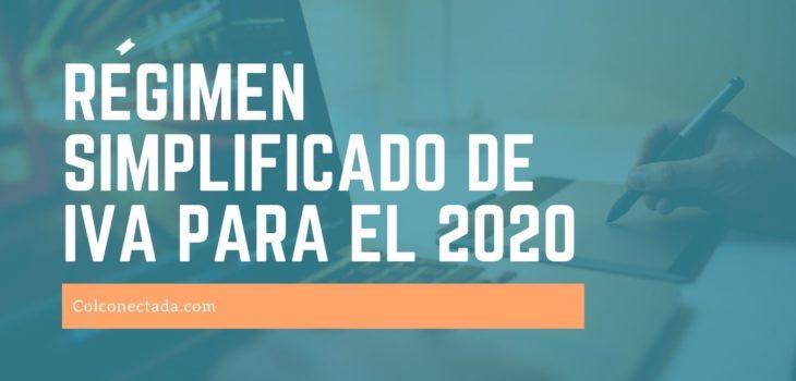 regimen simplificado de iva para el 2020