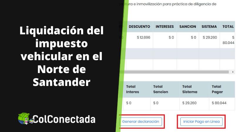 Impuesto vehículos en Norte de Santander 9