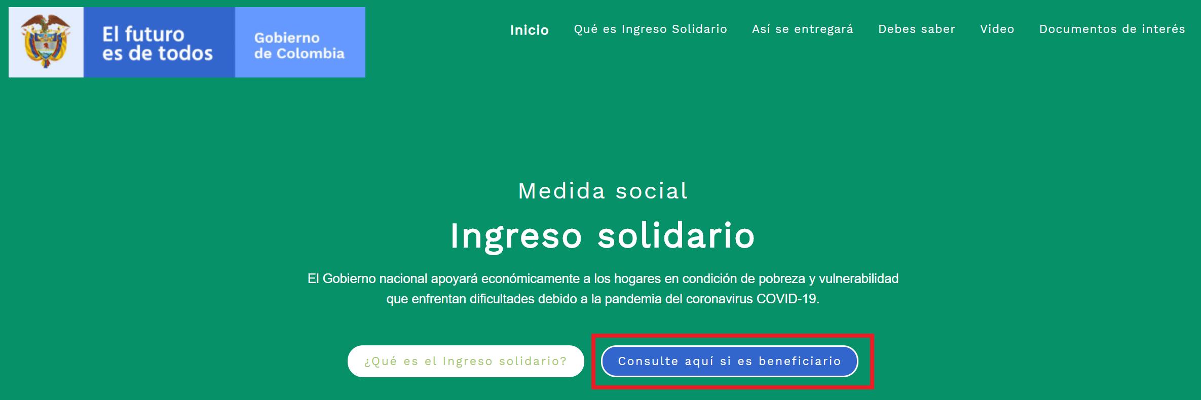 ingreso solidario consulta