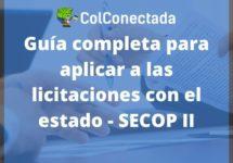 SECOP II: Licitaciones con el estado