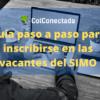 ¿Qué es el SIMO, cómo registrarse y aplicar a una vacante?