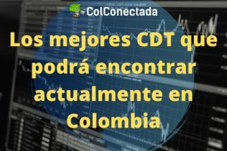 los mejores cdt en Colombia